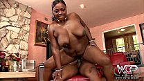 6977 WCP CLUB Phat ass Ebony Slut Butterfly Anal fucked by BBC preview