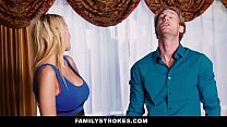 FamilyStrokes - Sexy Teen Gets a Little Help Fr...