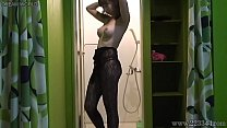 Free download video bokep Japanese fishnet girl undressing hidden cam at ...