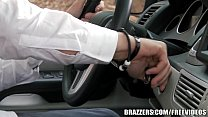 Brazzers - Sexy Hitchhiker Krissy Lynn gets pounded - 9Club.Top