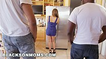 Blacks On Moms - Milf Reena Sky Getting Railed By Two Black Painters