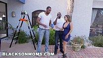 BLACKS ON MOMS - MILF Reena Sky Getting Railed By Two Black Painters Preview