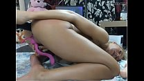 Siswetlive.com *** Breaking my Holes with those Cocks, Awesome Anal Skills preview image