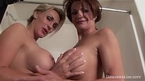 Deauxma & Tanya Tate Shower During Live Show!