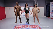 Mia Little mixed wrestling taking BBC from fighter Will Tile ⁃ [telugu aunty x] thumbnail