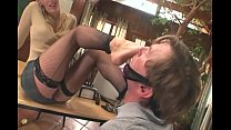 Therapist footsex with a patient with foot fetish Vorschaubild