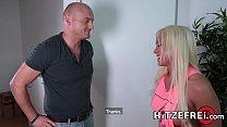 HITZEFREI Busty German blonde Celina Davis gets fucked Vorschaubild
