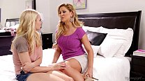 Step-mother Cherie DeVille Licking Alli Rae's Pussy pornhub video