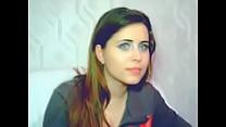 YouTube - Beautiful french brunette cam girl Thumbnail