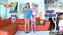 TRUE ANAL Ass fucking the lovely petite Riley Reid - 9Club.Top