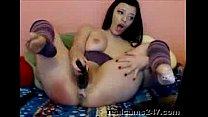 Webcam masturbation of a sexy babe