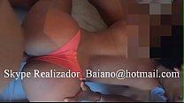 Telegram @Realizador Baiano Menage com Novinha Fã do canal do xvideos (PARTE 1).  duas rolas para putinha safada engolir, chupar e sentar. dupla penetraçao orgia amadora em salvador bahia brasil menage gangbang cuckold