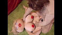 Sex Doll Fucked In All Three Holes