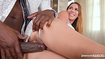 Interracial bangers feature Ani Blackfox riding black dick with her pussy Vorschaubild