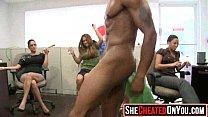 56 Rich milfs blowing strippers at underground cfnm party!40 pornhub video