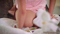 Taboo wrestling Her parents inform her that the Easter Bunny is