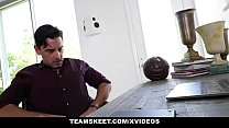 TeamSkeet - Sarah Banks Worshipped By Thick White Cock thumbnail