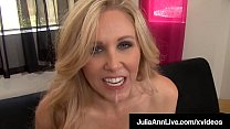 Hot Mega Milf Julia Ann Drools Jizz After Sucking Hard Cock! pornhub video
