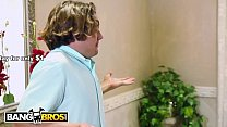 BANGBROS - MILF Julia Ann Stepmom Threesome With Latina Maid Abby Lee Brazil thumbnail