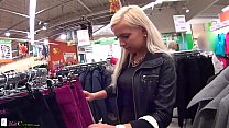 Two girls on public have sex for shopping free pornhub video