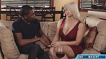 busty mother tastes a big black cock