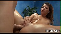 Miniature fucked hard by her rubber