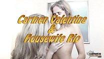 Horny Hotwife Rio And Carmen Valentina Licking ...