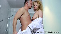 Mom Couple Make  Love In The Shower ower