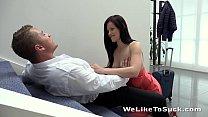 Weliketosuck - Face fucking and cumshot fun for horny Ella Martin's Thumb