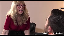 Old Cheating Cougar Fucks Employee To Save His Job ⁃ sissy xxx captions thumbnail