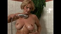 Horny granny Sally pornhub video