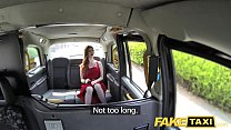 Fake Taxi Olive skin redhead in lingerie thumbnail