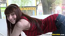 Young babe picked up for public truck sex tumblr xxx video