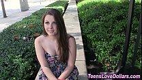 Image: Teen amateur gets creamed