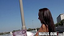 Mofos - Public Pick Ups - Forest Sex with Hot Hungarian starring  Angelina Wild preview image