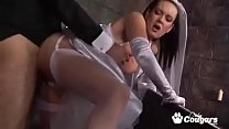 Bride Tanya Cox Gets A Face Full Of Cum From Th...