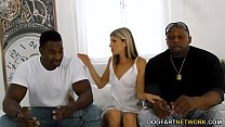 Office Girl Gina Gerson Gets DP'd By Big Black ... Thumbnail