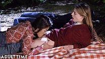 ADULT TIME Teenage Lesbian: Kendra & Kristen- P...