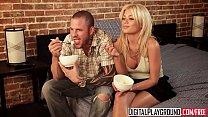 Hot blonde teen (Riley Steele) is looking for love but settles for cock - Digital Playground