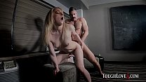 TOUGHLOVEX Karl casting a new blonde Kate Kennedy's Thumb