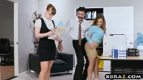 New big tits employee gets a good office initiation fuck Vorschaubild