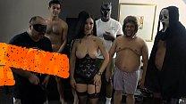 Download video bokep Hexxxica Diavola Halloween GANGBANG Promo 3gp terbaru