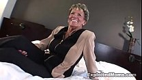Old Granny takes a big black cock in her ass Anal Interracial Video thumbnail