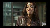 Stunning big-tit brunette Isis Taylor rides big... Thumbnail