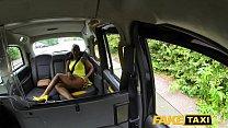 Fake Taxi Lovely ebony beauty Lola Marie empties cabbies balls Image