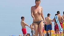 Hot Bikini Teens Thong Topless Voyeur Spy Beach