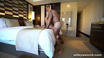 Wifey Gets Tits Creamed In Vegas صورة