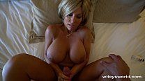 Wifey Gets Tits Creamed In Vegas's Thumb