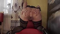 Gaping Ass And Anal Vaginal Orgasm  A Mature Mi