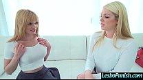 Sex Toys Punish Action Between Horny Lesbian Girls (Jayme Langford & Jenna Ashley) vid-17 pornhub video